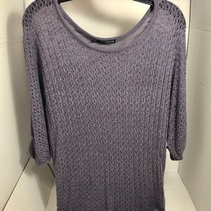 Maurices Women's Purple Knit Sweater
